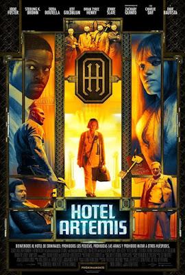 Hotel Artemis 2018 DVD R1 NTSC Latino