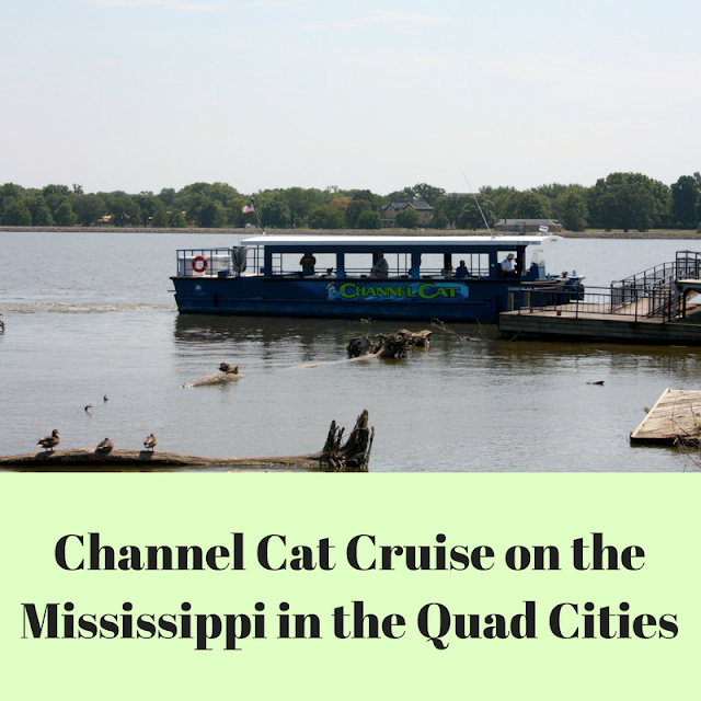 Channel Cat Cruises on the Mississippi River in the Quad Cities
