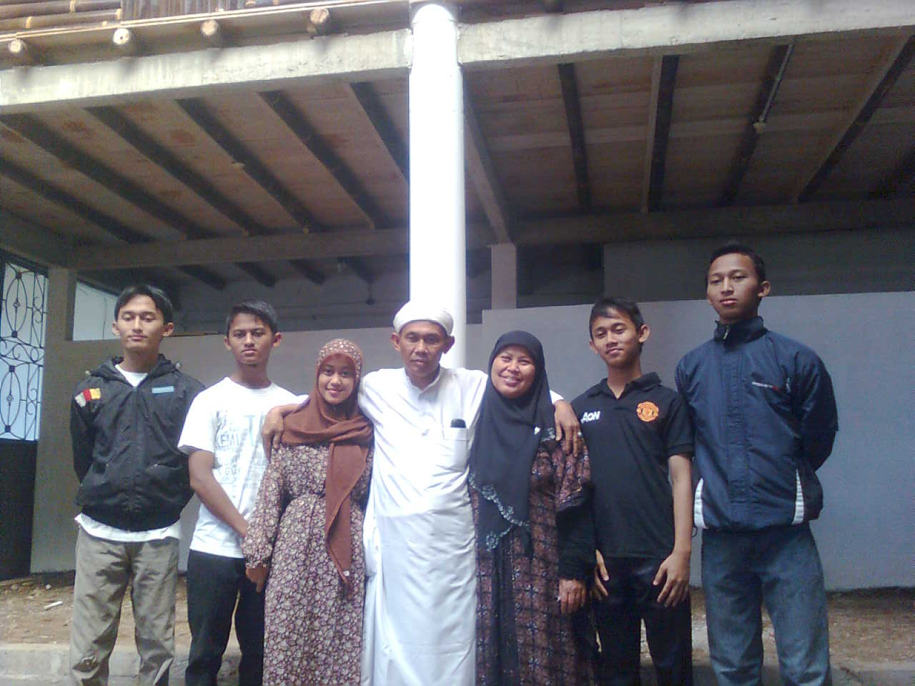 Keluarga Besar Pengasuh Pondok Pesantren Al-Amin Pabuwaran