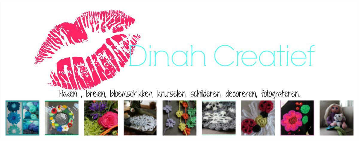 Dinah Creatief Veren Haken Met Patroon