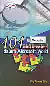 Judul Buku : 101 teknik tersembunyi Dalam Microsoft Word