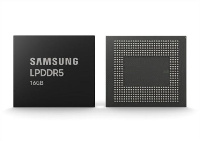 Samsung, 16GB LPDDR5 RAM'in seri üretimini başlattı, yakında yakında sunulacak Premium Amiral Gemileri'ni bekliyoruz