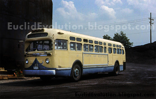 Euclid (and an RTA) Busses of Yesteryear