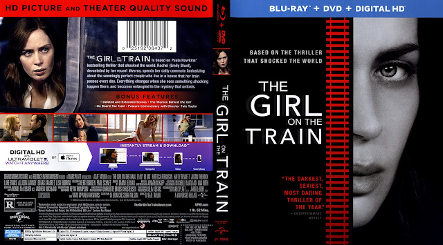 The Girl On The Train (scan) Bluray Cover