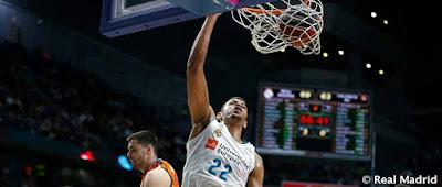 """Real Madrid 83 - 71 Valencia Basket : Asi defiende """"un grande"""" ."""