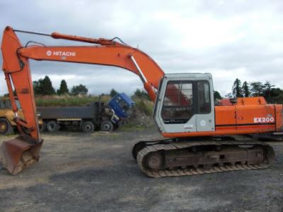 Servise Manual Excavator Hitachi Ex200-1