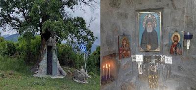 Ο Άγιος Παΐσιος και το Εκκλησάκι της Αγίας Βαρβάρας στην Κόνιτσα και (Βίντεο)