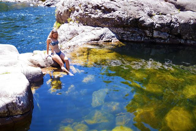 Behana gorge waterfall