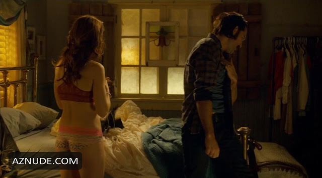 Melanie Scrofano nude scene