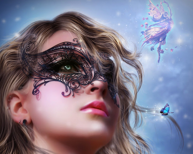 3d Fairy Girl Wallpapers Beautiful Places In