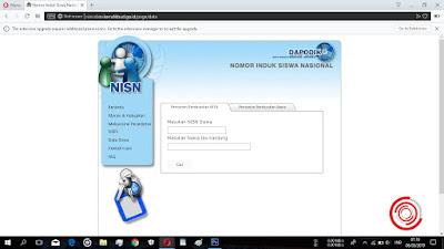 Setelah itu kalian pilih bagian Pencarian Berdasarkan Nama untuk cek NISN atau kebenaran NISN dengan nama kalian jika kartu NISN hilang atau lupa nomornya