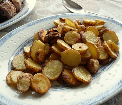 Pink Fir Apple Potatoes Fried in Duck Fat