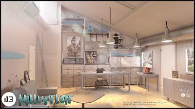 i13 Brilliant Loft Environment and Poses