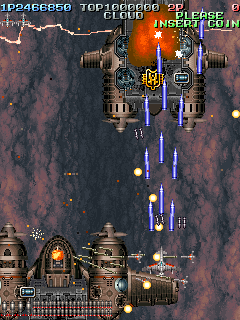 Battle Garegga+arcade+game+retro+portable+shootem up+videojuego+descargar gratis