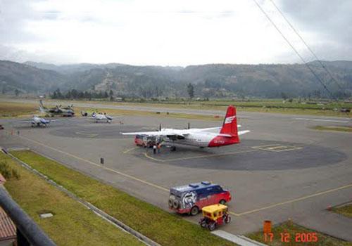 Aeropuerto Mayor General FAP Armando Revoredo Iglesias de Cajamarca
