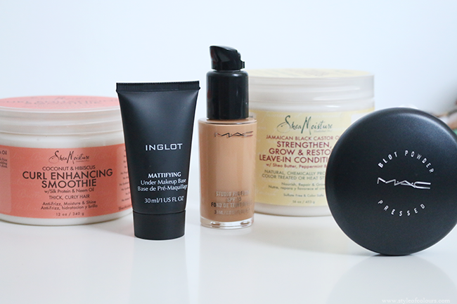 New in - MAC, Inglot and SheaMoisture beauty products