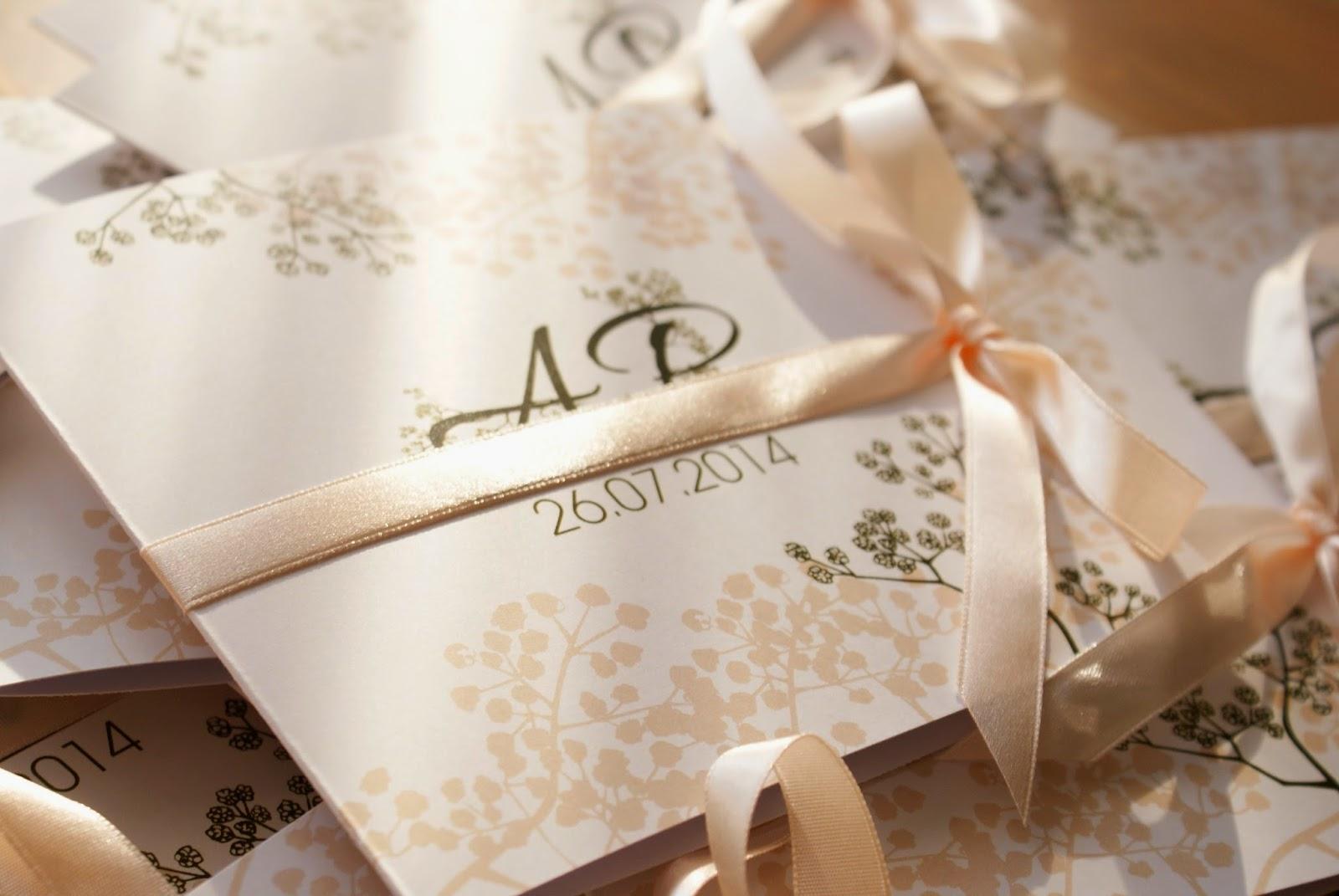 Zaproszenia ślubne Wwwmetierpl Zaproszenia ślubne Z Gipsówką