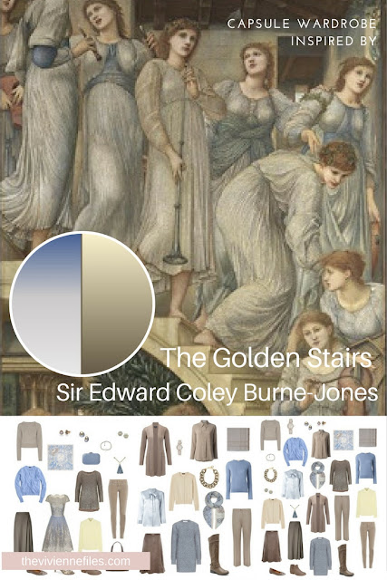 Revisiting a Favorite Pair of Posts: The Golden Stairs by Sir Edward Coley Burne-Jones