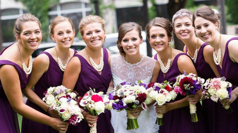 Twins In The Cities Our Bride Amp Bridesmaid Bouquets
