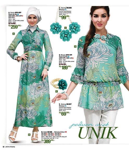 Gambar Baju Busana Muslim Gambar Baju Busana Muslim Di Katalog