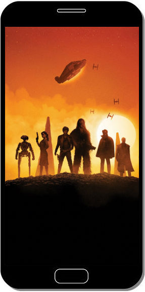 Solo a Star Wars Story Personnages Crépuscule - Fond d'Écran en FHD pour Mobile