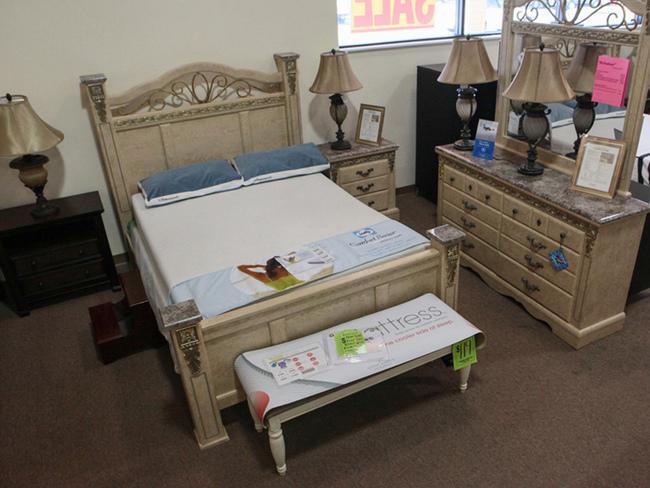 Ashley Furniture Bedroom Set Marble Top