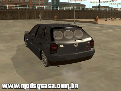 Vw Gol G4 Galera do Arrasta para GTA San Andreas
