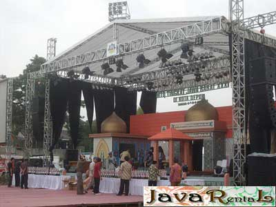 Rental Tenda Rigging - Pameran