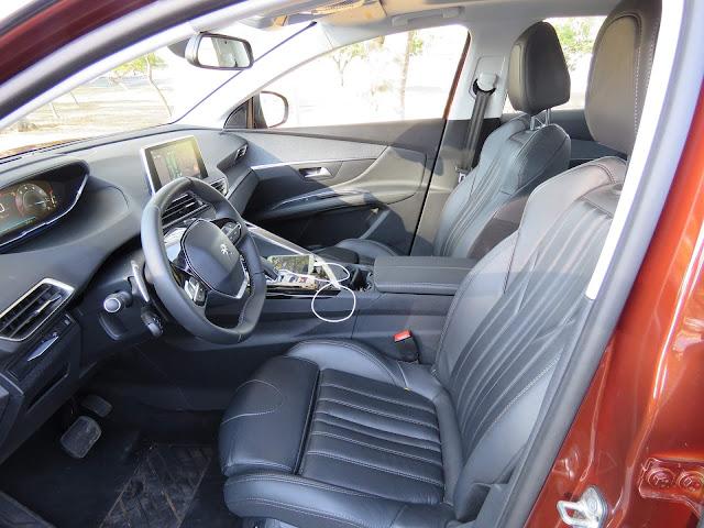 Peugeot 3008 2018  - inteiror - painel digital