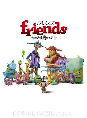 Sinopsis film Friends: Naki on the Monster Island (2011)