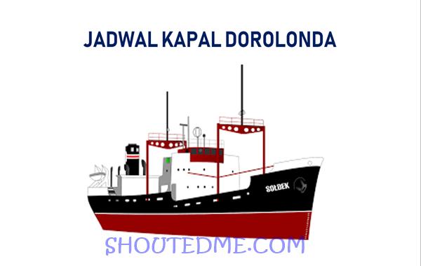 Jadwal keberangkatan kapal dorolonda 2019