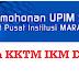 Permohonan KKTM IKM Dan MJII 2017 Online