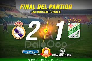 Real Potosí 2 - Oriente Petrolero 1 - DaleOoo - Lhed Indumentari - Pollos Buly Buly - Casa del Tenis