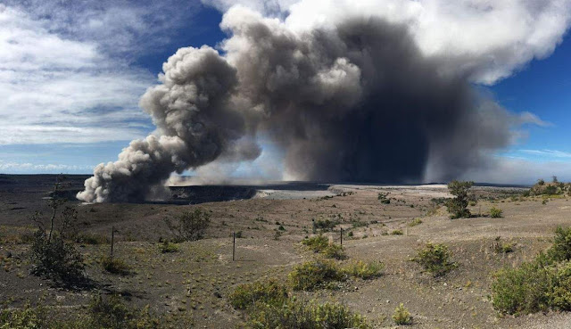 Explosions at Hawaii's Kilauea Summit Keep Producing Magnitude 5.3 Quakes