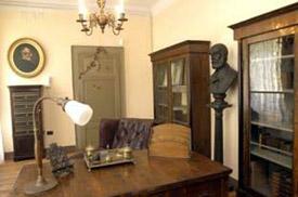 Saffi's study at the Villa Saffi museum