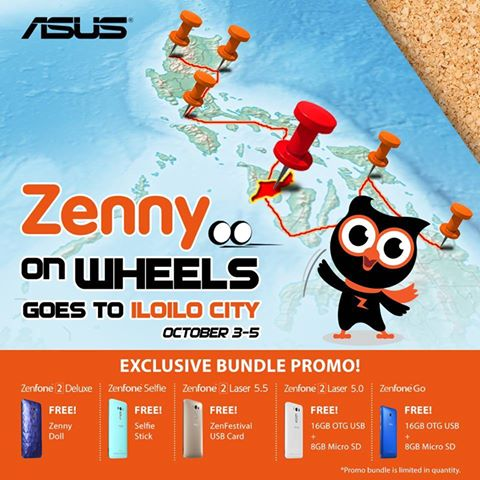 Zenny On Wheels goes to Iloilo City!