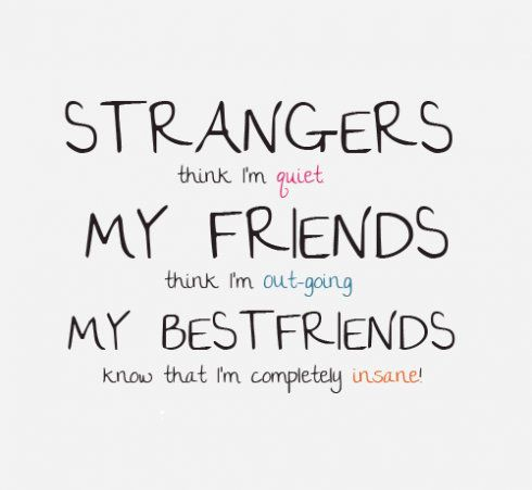 CUTE QUOTES ABOUT LIFE AND FRIENDS