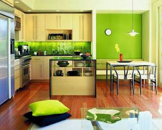 model desain ruang dapur rumah minimalis