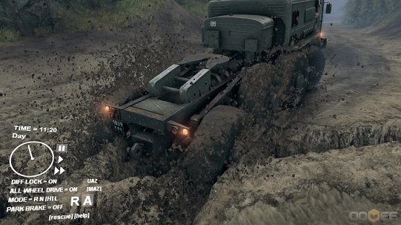 Spintires PC Game Download Full Version Gameplay 1