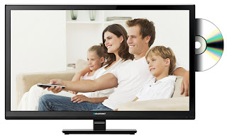 LED TV 23-inch with price under 100GBP, only Now deals Blaupunkt TV with DVD £99.99