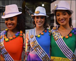 Reinas del Carnaval  Llamadas Escuelas de Samba Tamara Esnal Lucía di Prieto Sabrina Quenon
