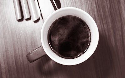black coffee widescreen resolution hd wallpaper