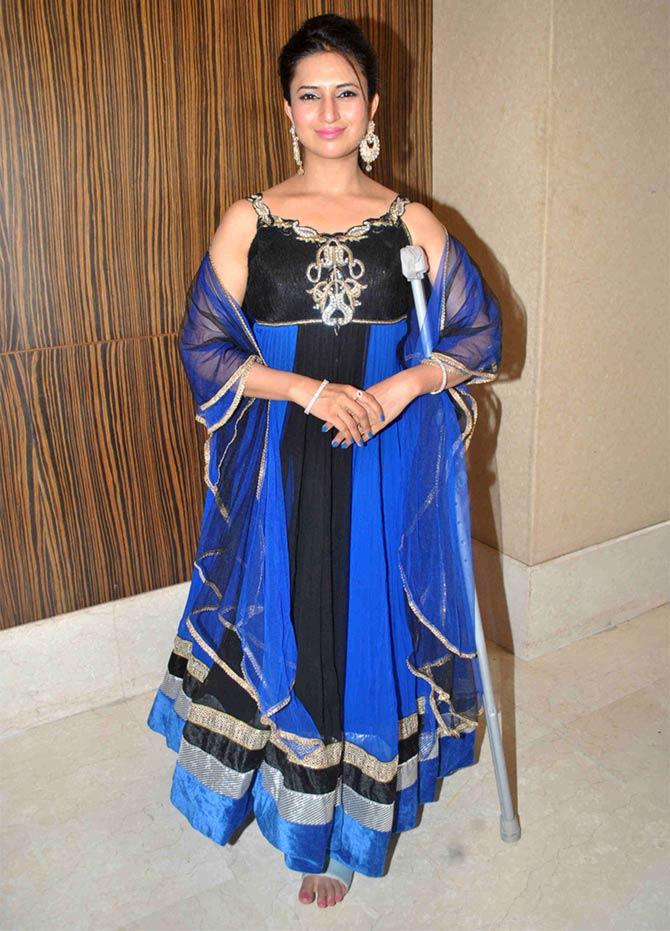 , Divyanka Tripathi Pics from Karan Patel's Wedding