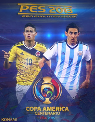 b9eee2a15 PES 2013 New Patch Copa America Centenario 2016. Updated Kits ...