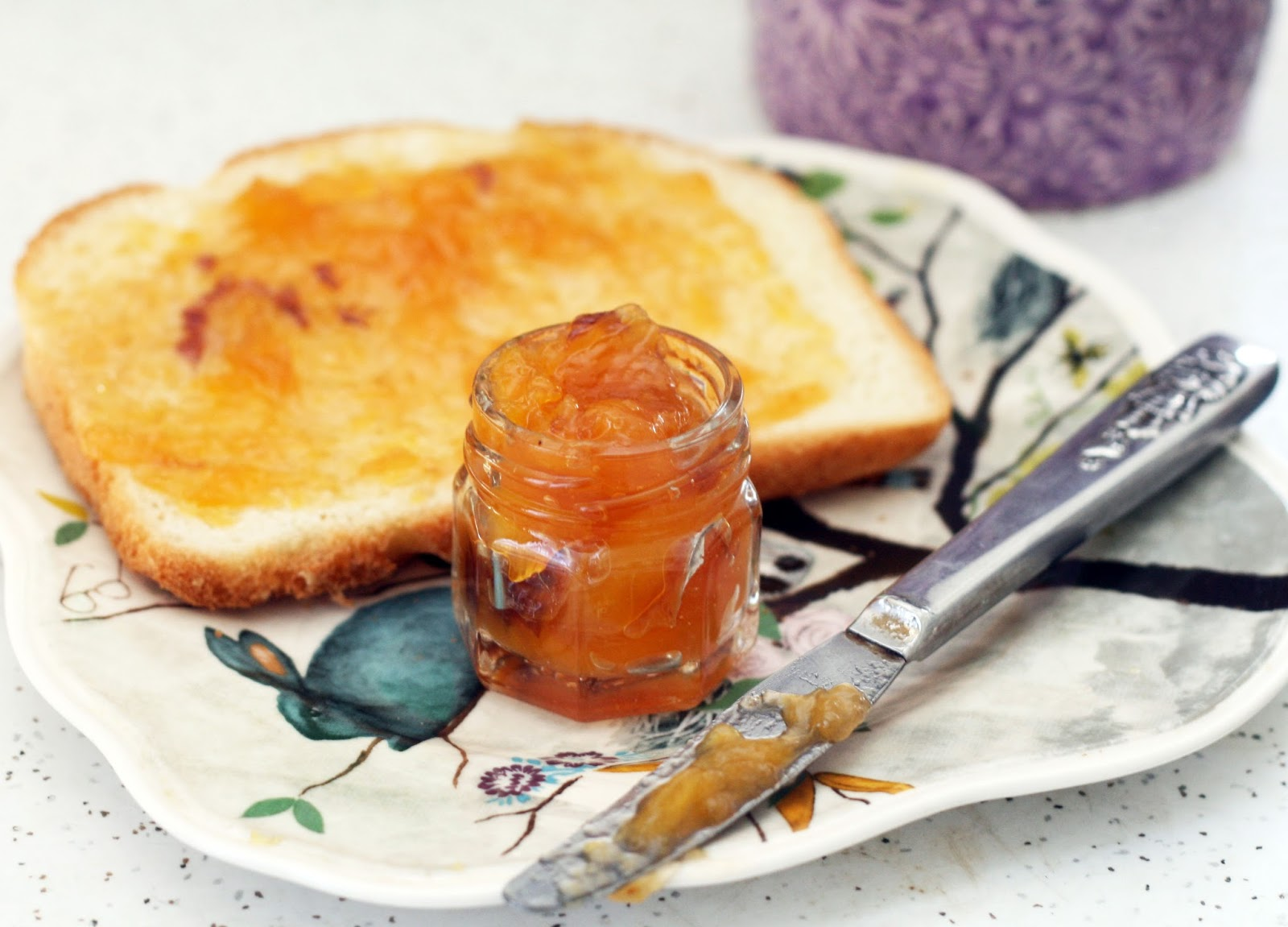 Recipes By Rachel Rappaport Hibiscus Peach Jam