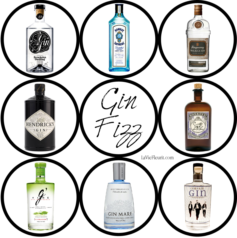 BeLoved; Gin Fizz by La Vie Fleurit!!! Gin, Lifestyle, Drinks, Cocktails, Party, Must Have, Wish List, DIY, Spring/Summer, Fun, Bombay Sapphire, Breuckelen Distilling, bottles, layout, graphic design, label, Monkey 47, Hendrikck's gin, Gin Mare, G' Vine, Corsair, Tanqueray Malacca, Gin Tonic, G&T, recipe, shaken,