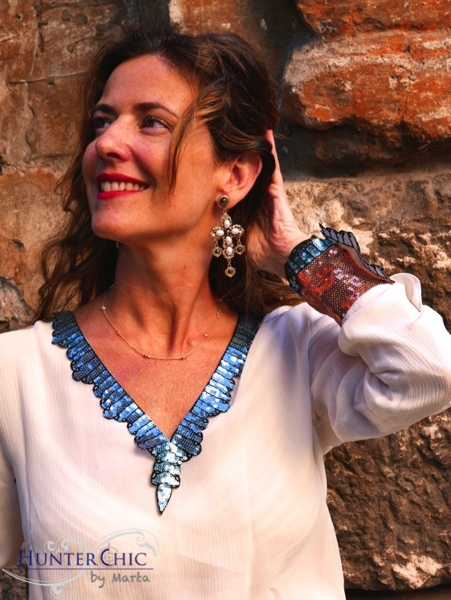 hunterchic by mart-marta halcon de villavicencio-uterqúe-lentejuelas inspiración Gucci