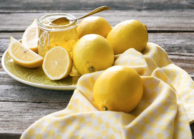 geleia de limão