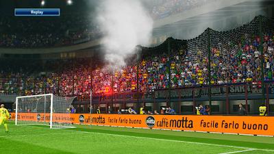 Cara Tambah Smoke Bomb di PES 2016