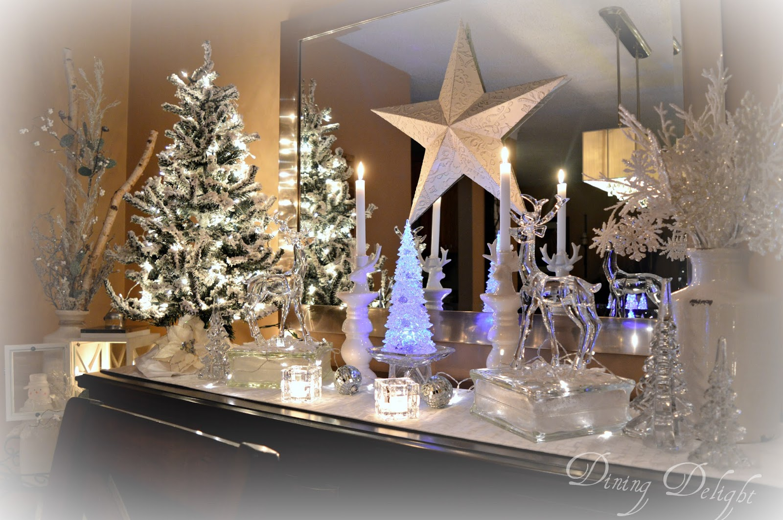 Dining delight christmas decor inspiration for B q christmas decorations
